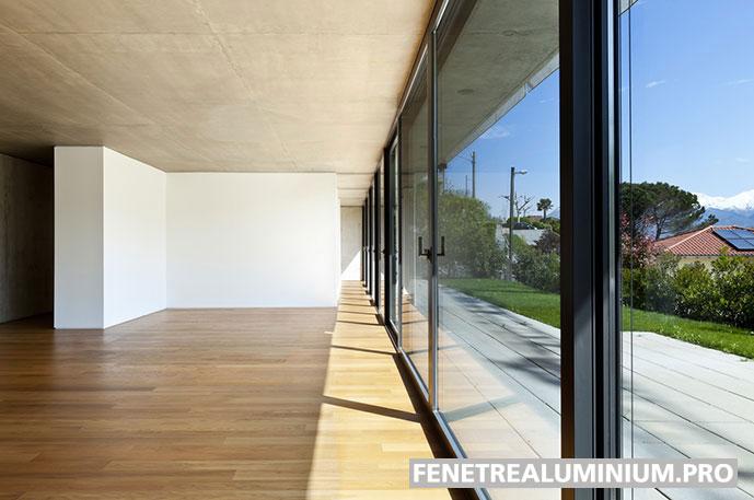 veranda maison fenetre aluminium