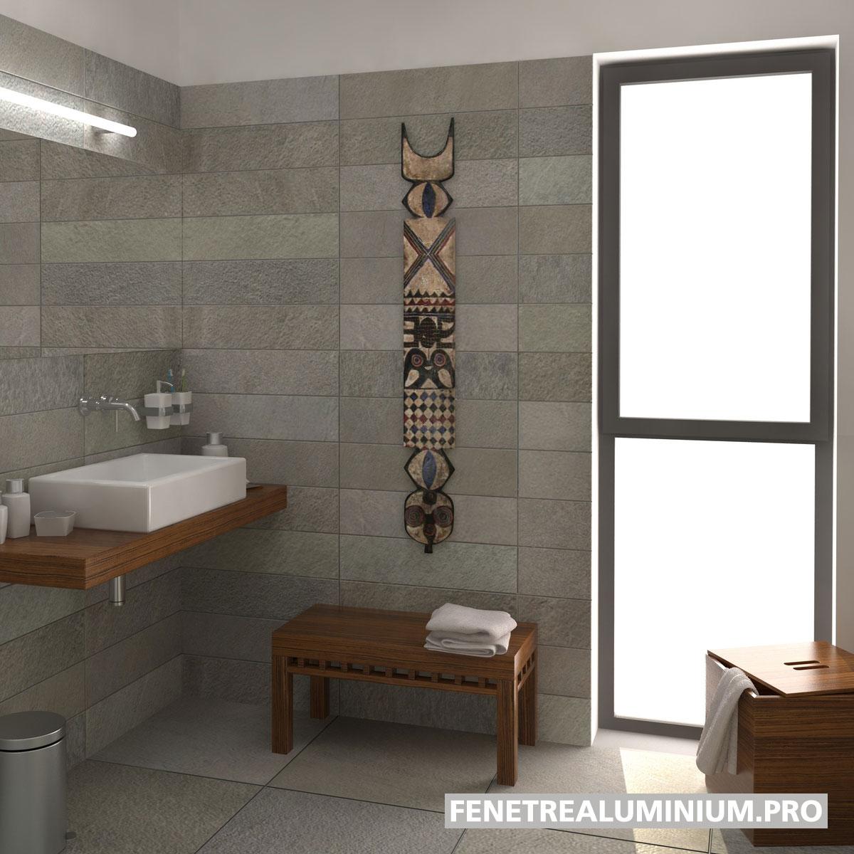 salle de bain fenetre lumiere